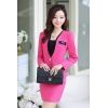 Roseadministrative staff secretary OL women career work uniform