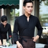 men blackcoffee food service restaurants staff uniform workwear waiter