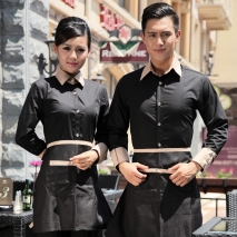 upgrade party bar dressy shirts work uniform for waiter waitress staff