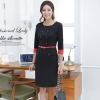 BlackKorea design double-breasted high quality work dress for office women