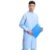 Blue2017 long sleeve officer collar dentist doctor uniform men coat