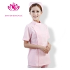 Pinkfashion side-buttoned short sleeve summer nurse coat uniform (1 x jacket + 1 x pant )