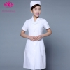 white short sleevefashion medical care health center nurse women doctor coat jacket