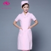 pink short sleevefashion medical care health center nurse coat hospital uniform