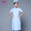 light blue short sleevefashion medical care health center nurse coat hospital uniform