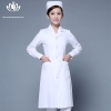 white long sleevefashion medical care health center nurse coat hospital uniform