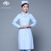 light blue long sleevefashion medical care health center nurse coat hospital uniform