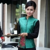 color 6special class Chinese Restaurant waiter waitress uniform coat