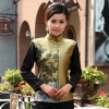 Whitespecial class Chinese Restaurant waiter waitress uniform coat