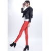 redsexy low waist PU leather young girls legging pant