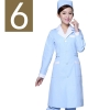 women light blue(white collar)