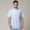 Europe side opening men nurse coat uniform