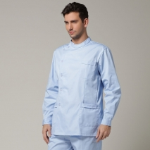 high quality Europe handsome men doctor nurse coat