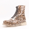 fashon transparent leopard grain lovely young girls lady rain boot