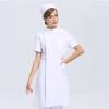 short sleeve milk whitenew arrival hospital medical nurse coat short sleeve