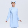 long sleeve light bluenew arrival hospital medical nurse coat short sleeve