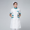 short sleeve green collarnew arrival hospital medical nurse coat short sleeve