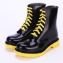fashion London lace loop candy color martin women's rain boot wholesale
