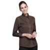 women long sleeve coffeefashion waiter short / long sleeve shirt restaurant uniforms