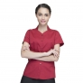 collarless clerk party waiter shirt waitress uniform