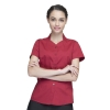 women winecollarless clerk party waiter shirt waitress uniform