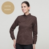 women coffeelong sleeve button down collar waiter waitress shirt uniform