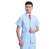men short sleeve light blue