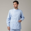 light blue coathigh quality Europe handsome men doctor nurse coat