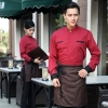 wine waiterhigh quality long sleeve shirt uniform for waiter waitress