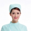 light green2015 fashion high quality nurse hat cap,multi designs