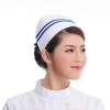 white ( two bar)2015 fashion high quality nurse hat cap,multi designs