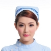 light blue ( two bar)2015 fashion high quality nurse hat cap,multi designs