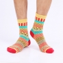 2014 African style design high quality man cotton sock