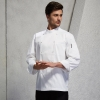 unisex white chef blouseupgrade dinner restaurant kitchen chef coat chef staff uniforms
