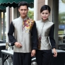 special class Chinese Restaurant waiter waitress uniform coat