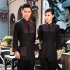 Korea design autumn outfit cafe hotel worker uniform workwear