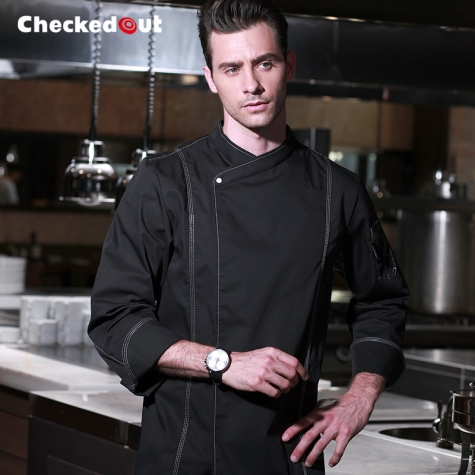 five - star hotel chief chef coat uniform