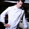 white chef coat