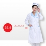 long sleeve fashion professional beauty medical care doctor nurse uniform lab coat
