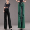 Europe fashion top quality wide leg pant career formal pant flare trouser