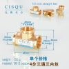 color 2high quality 38-5 copper pipe fittings straight tee  y style tee