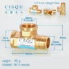 color 10high quality 38-5 copper pipe fittings straight tee  y style tee