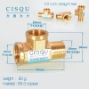 color 11high quality 38-5 copper pipe fittings straight tee  y style tee