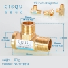 color 15high quality 38-5 copper pipe fittings straight tee  y style tee