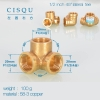 color 19high quality 38-5 copper pipe fittings straight tee  y style tee