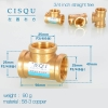 color 20high quality 38-5 copper pipe fittings straight tee  y style tee