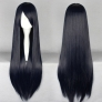 colorful straight long party cosplay wigs,hair extension,80cm