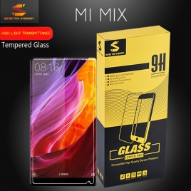 High light transmittance xiaomi mix tempered glass  screen protector