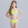 Wheat hem fashion teen girl bikini