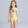 high quaity cartoon printing children swimwear